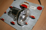 Chrome Daytime Running Lamp/Spot Light: H3/55w E Marked: Clearance Price! Half Price!